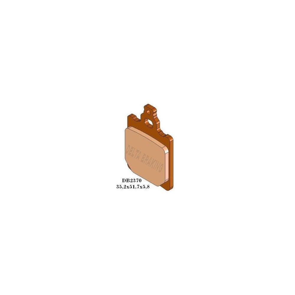 FIT GENERIC KSR  Trigger 125 X 08/>09 EBC REAR ORGANIC BRAKE PADS